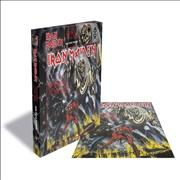 Click here for more info about 'The Number Of the Beast - Rock Saws 500 Jigsaw'