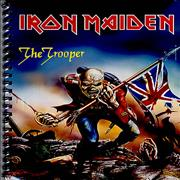 45422d6b459721 ... Click here for more info about  Iron Maiden - The Trooper A4 Note Book