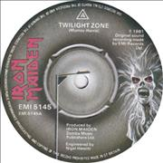 Click here for more info about 'Iron Maiden - Twilight Zone / Wrathchild - Black Vinyl'