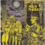 """Iron Maiden Women In Uniform - P/S - EX UK 7"""" vinyl"""