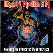 Iron Maiden World Piece Tour '83 UK tour programme