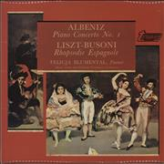 Click here for more info about 'Isaac Albéniz - Piano Concerto No. 1 / Rhapsodie Espagnole'