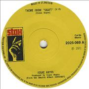 Click here for more info about 'Isaac Hayes - Theme From Shaft - 1st - Solid'