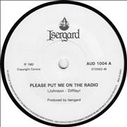 Click here for more info about 'Please Put Me On The Radio'