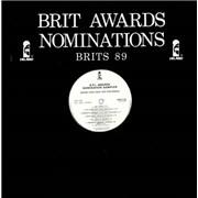 Island Records Brit Awards Nominations - Brits 89 UK vinyl LP Promo
