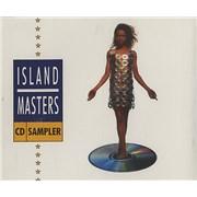 Island Records Island Masters CD Sampler UK CD album Promo