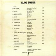 Island Records Island Sampler UK vinyl LP