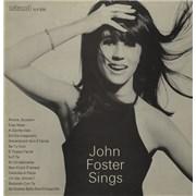 Island Records John Foster Sings UK vinyl LP