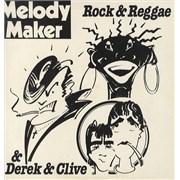 Island Records Rock & Reggae and Derek & Clive UK vinyl LP Promo