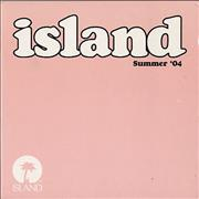 Island Records Summer '04 UK CD album Promo