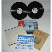 Island Records The Island Story Japan 2-LP vinyl set Promo