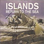 Click here for more info about 'Islands - Return To The Sea - Autographed'