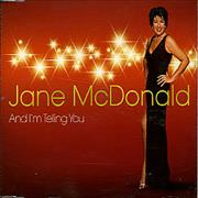 Click here for more info about 'JANE MCDONALD - And I'm Telling You'