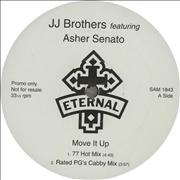 "JJ Brothers Move It Up UK 12"" vinyl Promo"