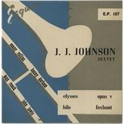 Click here for more info about 'J.J. Johnson - J.J. Johnson Sextet EP'