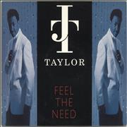 Click here for more info about 'J.T. Taylor - Feel The Need'