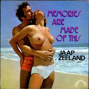 Jaap Zeeland Memories Are Made Of This UK vinyl LP