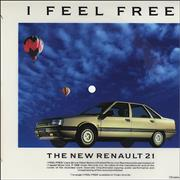 Click here for more info about 'Jack Bruce - I Feel Free - Renault 21 Flexi Disc'