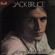 Click here for more info about 'Jack Bruce - Songs For A Tailor - Laminated - VG+'