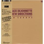 Jack DeJohnette New Directions In Europe Japan vinyl LP