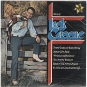 Jack Greene Best Of Jack Greene UK vinyl LP
