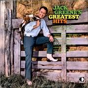 Jack Greene Jack Greene's Greatest Hits USA vinyl LP