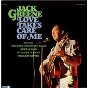 Jack Greene Love Takes Care Of Me USA vinyl LP