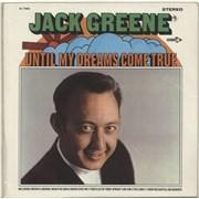Jack Greene Until My Dreams Come True USA vinyl LP