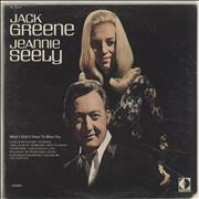 Jack Greene Wish I Didn't Have To Miss You USA vinyl LP