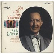 Jack Greene You Are My Treasure USA vinyl LP