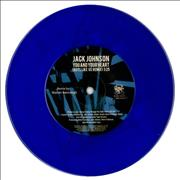 Click here for more info about 'Jack Johnson - You And Your Heart - Blue Vinyl'
