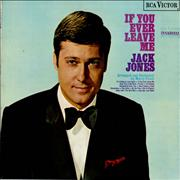 Click here for more info about 'Jack Jones - If You Ever Leave Me - orange label'