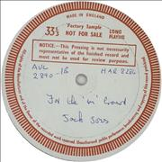 Click here for more info about 'Jack Jones - The 'In' Crowd - Test Pressing'