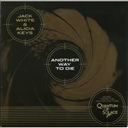 Click here for more info about 'Jack White - Another Way To Die - Gold Vinyl'