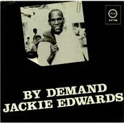Jackie Edwards By Demand UK vinyl LP