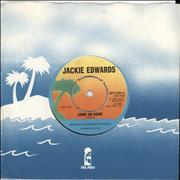 "Jackie Edwards Come On Home UK 7"" vinyl"