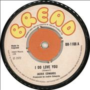 Click here for more info about 'Jackie Edwards - I Do Love You'