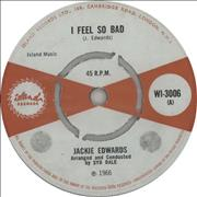 Click here for more info about 'Jackie Edwards - I Feel So Bad'