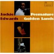Jackie Edwards Premature Golden Sands UK vinyl LP
