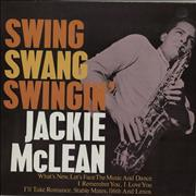 Click here for more info about 'Jackie McLean - Swing, Swang, Swingin''