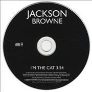 Click here for more info about 'Jackson Browne - I'm The Cat'