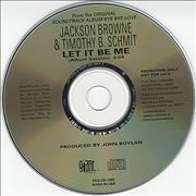 Click here for more info about 'Jackson Browne - Let It Be Me'