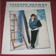 Click here for more info about 'Jackson Browne - Lives In The Balance'