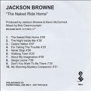 Click here for more info about 'Jackson Browne - The Naked Ride Home'