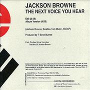 Click here for more info about 'Jackson Browne - The Next Voice You Hear '