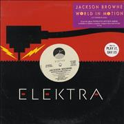 Click here for more info about 'Jackson Browne - World In Motion'