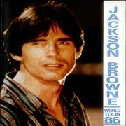 Click here for more info about 'Jackson Browne - World Tour 86'