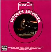Jacques Loussier Focus On UK 2-LP vinyl set
