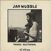 Click here for more info about 'Jah Wobble - Fading'