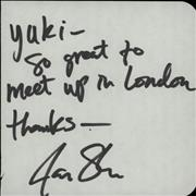 Click here for more info about 'Jake Stigers - Page Of An Autograph Book'